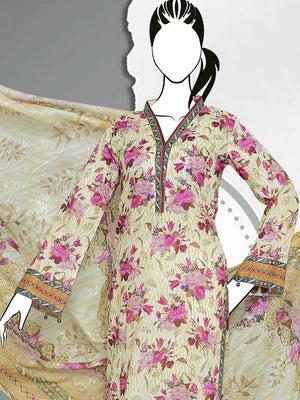 Al-Boutique - Sara Junaid Luxury Embroidered Lawn Eid Collection 2019 GE 1173 - faisalfabrics-pk