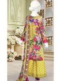 Festive Chikan Kari Lawn 2019 with Embroidered Trouser 3pc Suit GE 740