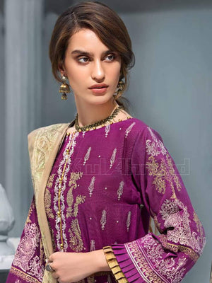 GulAhmed Embroidered Shawl Collection 2019 3Pc Suit APE-06 PARAS