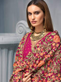 GulAhmed Embroidered Shawl Collection 2019 3Pc Suit APE-10 SADABAHAR