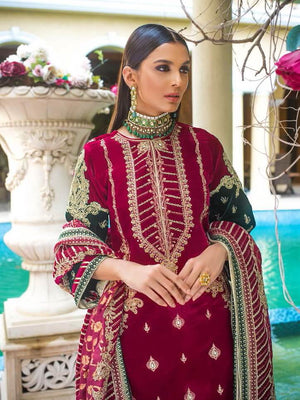 GulAhmed Noor-e-Chasham Embroidered 3PC Suit VLW 07 OPAL