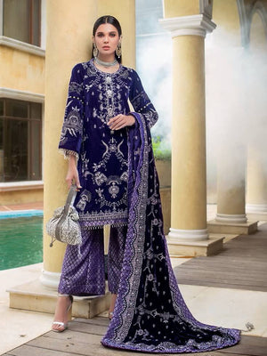 GulAhmed Noor-e-Chasham Embroidered 3PC Suit VLW 09 KANGAN