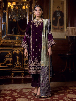 GulAhmed Noor-e-Chasham Embroidered 3PC Suit VLW 11 NAGINA