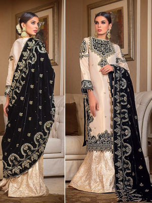 GulAhmed Noor-e-Chasham Embroidered 3PC Suit VLW 15 ZARKOON