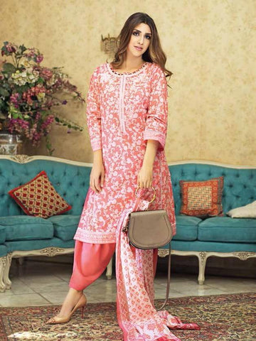GulAhmed Mother Collection 3PC Unstitched Embroidered Lawn Suit CL-649 B