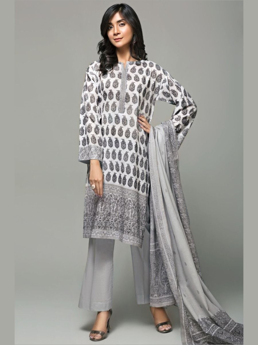 GulAhmed Mother Collection 3PC Unstitched Lawn Suit CL-651 A - FaisalFabrics.pk