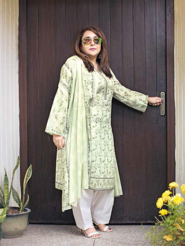 GulAhmed Mother Collection 3PC Unstitched Lawn Suit CL-652 A - FaisalFabrics.pk