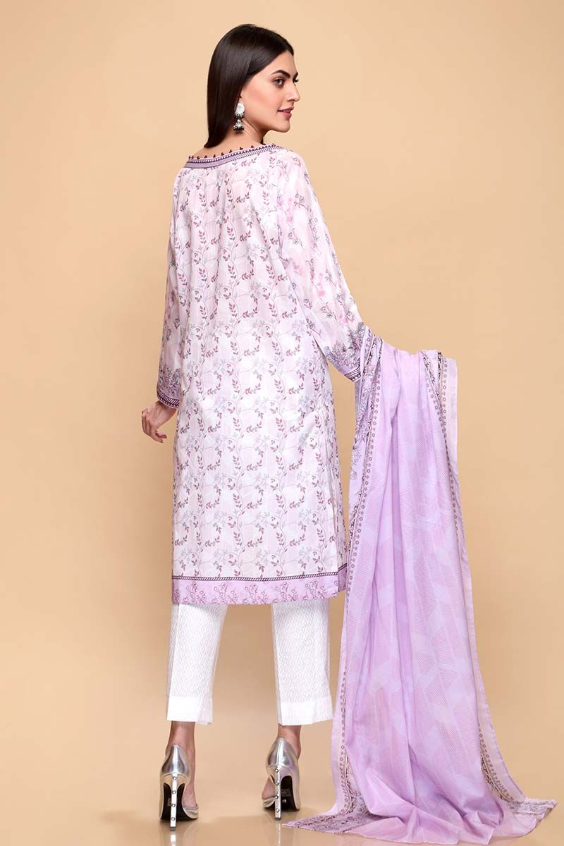 GulAhmed Mother Collection 3PC Unstitched Lawn Suit CL-652-B - FaisalFabrics.pk