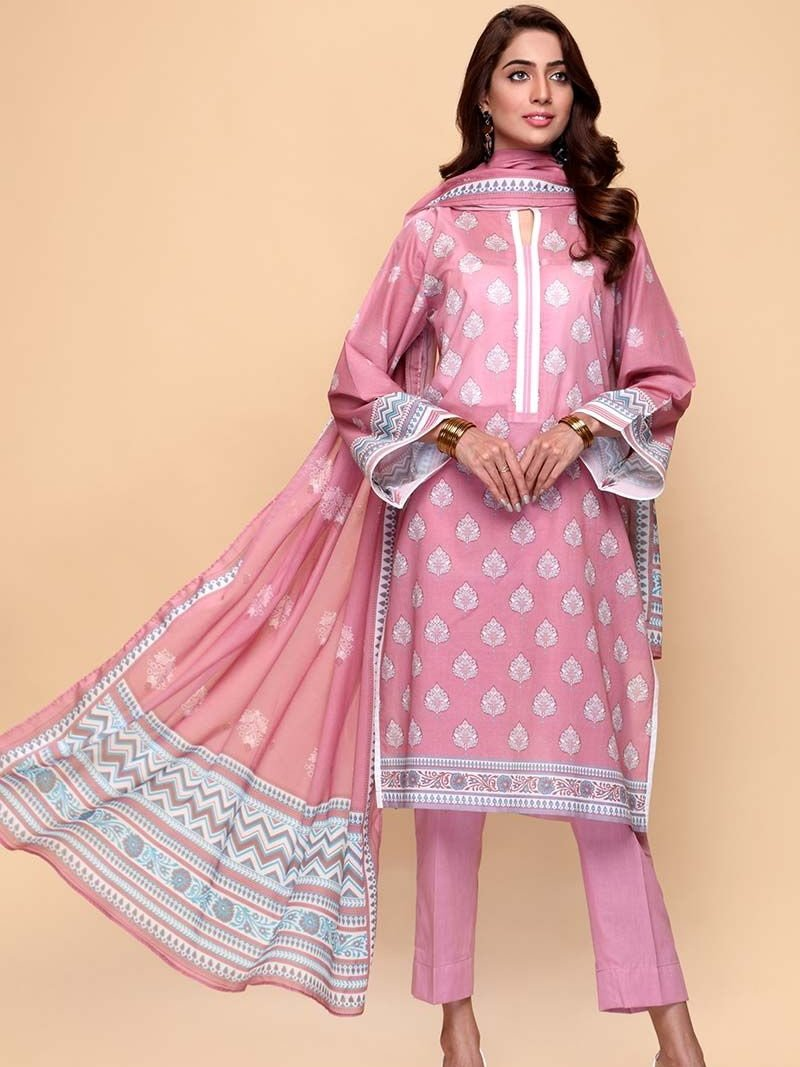 GulAhmed Mother Collection 3PC Unstitched Lawn Suit CL-663 A - FaisalFabrics.pk