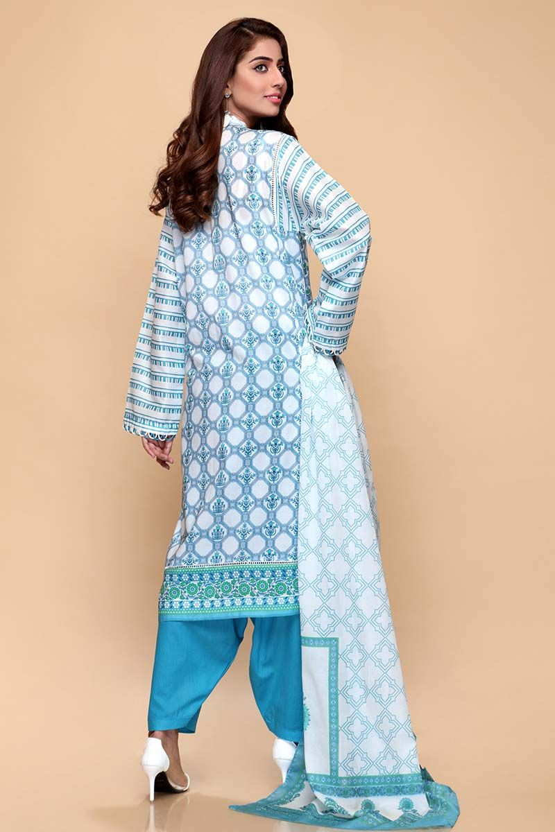 GulAhmed Mother Collection 3PC Unstitched Lawn Suit CL-664 A - FaisalFabrics.pk