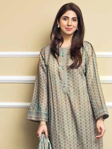 GulAhmed Mother Collection 3PC Unstitched Lawn Suit CL-667 B - FaisalFabrics.pk