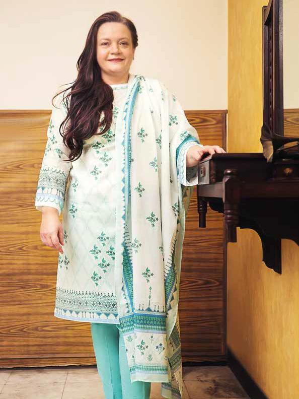 GulAhmed Mother Collection 3PC Unstitched Lawn Suit CL-668 A - FaisalFabrics.pk