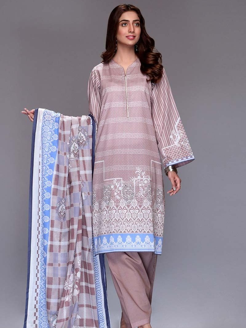GulAhmed Mother Collection 3PC Unstitched Lawn Suit CL-669 B - FaisalFabrics.pk