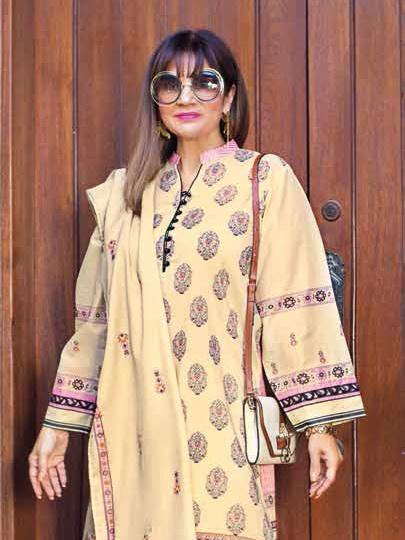 GulAhmed Mother Collection 3PC Unstitched Lawn Suit CL-676 B