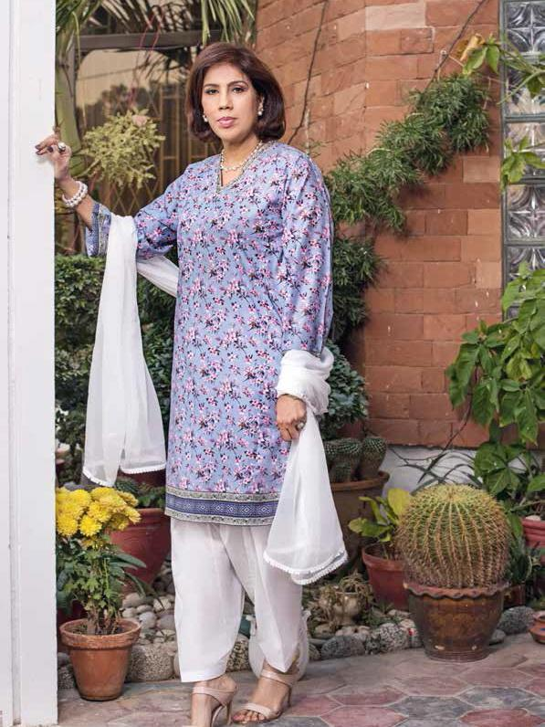 GulAhmed Mother Collection 1Pc Digital Printed Lawn Shirt SL-756 - FaisalFabrics.pk