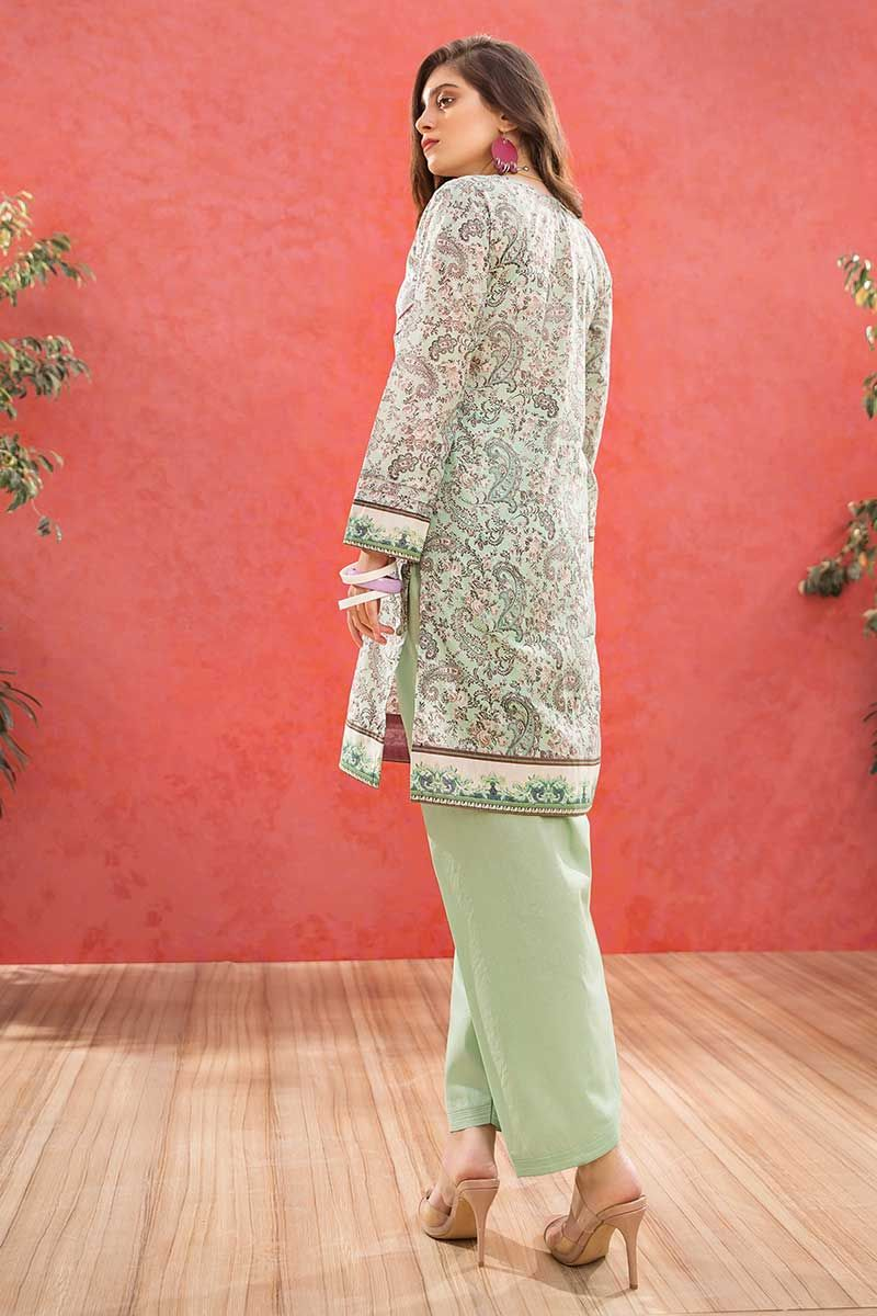 GulAhmed Mother Collection 1Pc Digital Printed Lawn Shirt SL-760 - FaisalFabrics.pk