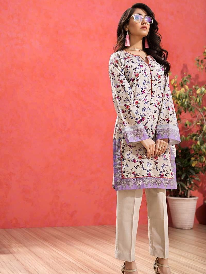 GulAhmed Mother Collection 1Pc Digital Printed Lawn Shirt SL-761 - FaisalFabrics.pk