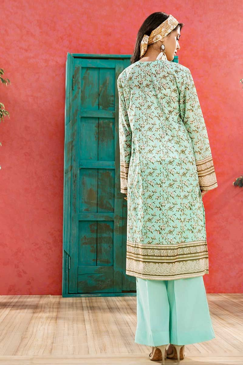 GulAhmed Mother Collection 1Pc Digital Printed Lawn Shirt SL-780 - FaisalFabrics.pk