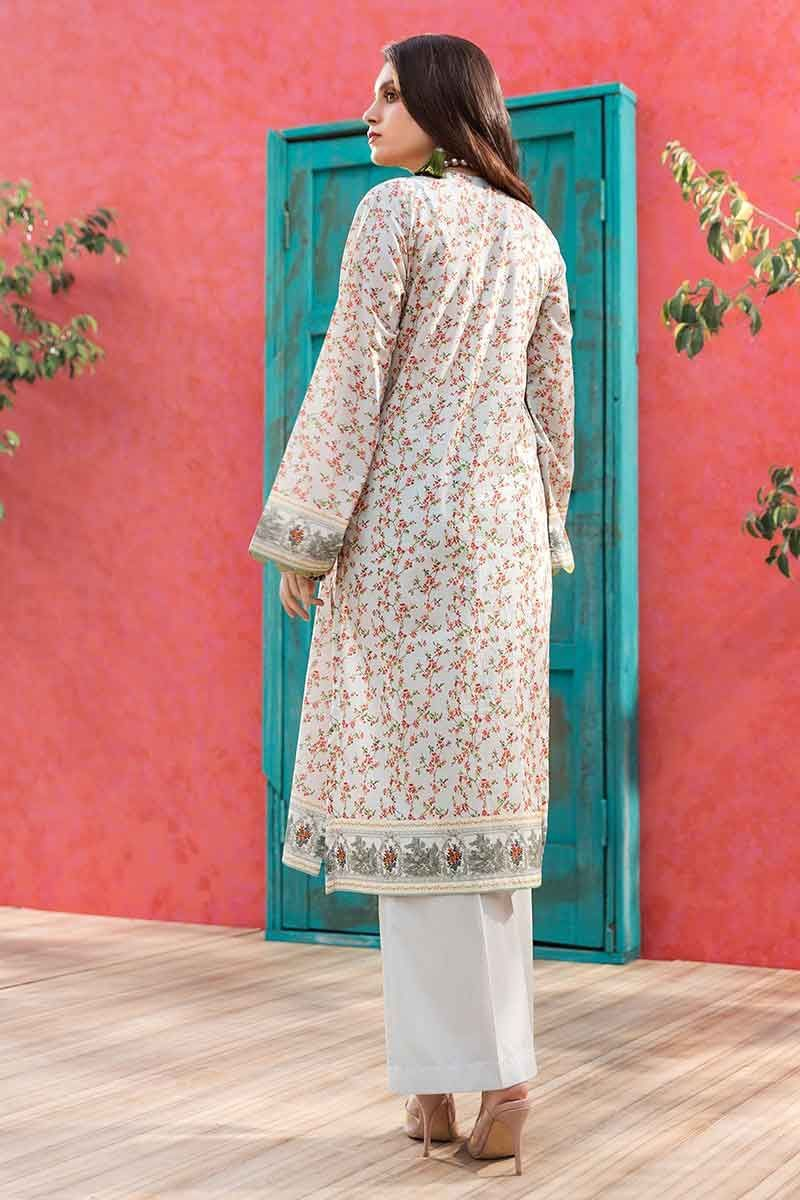 GulAhmed Mother Collection 1Pc Digital Printed Lawn Shirt SL-783 - FaisalFabrics.pk