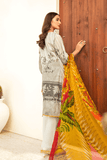 Iznik Chinon Lawn Collection 2020 Embroidered 3PC CL20-04 Oasis - FaisalFabrics.pk