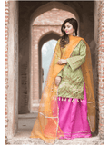 Ketifa Wedding Collection Unstitched 3 piece Suit KTH-0102 - FaisalFabrics.pk