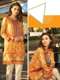 Lakhany LSM Embroidered Lawn Kurti Shades Of Summer 1Pc EKC-2079 - FaisalFabrics.pk