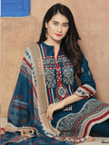 Aroosa Embroidered Swiss Lawn 2019 Unstitched 3 Piece Suit MSV-19020 - FaisalFabrics.pk
