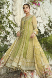 MARIA.B Mbroidered Unstitched Eid Collection Olive Green BD-1904 - FaisalFabrics.pk
