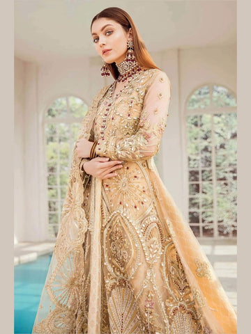Maryum N Maria Bridal Collection 2020 GILDED LEAF D-01 - FaisalFabrics.pk