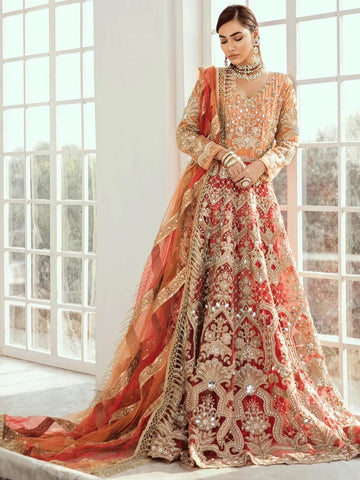 Maryum N Maria Bridal Collection 2020 VERMILLION D-02