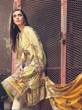 Motifz Amal Linen Fall Winter 2019 Embroidered 3 Piece Suit 2383-BOTANICA