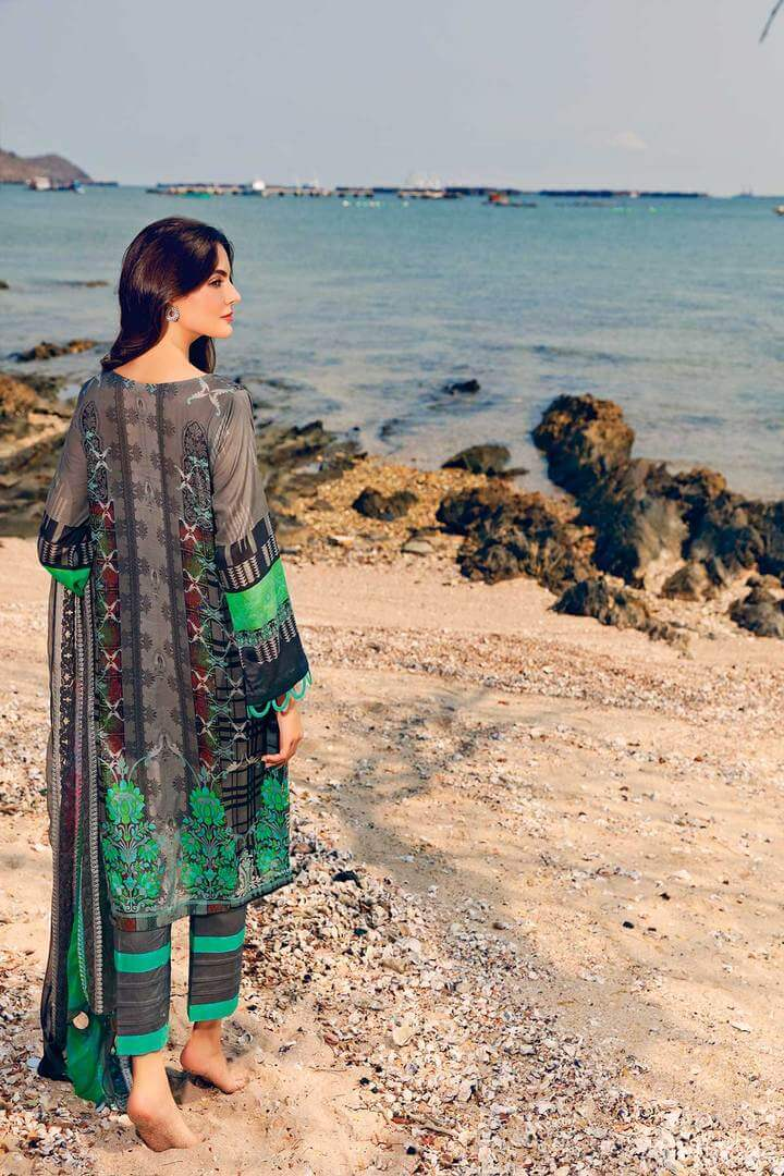 CHARIZMA Naranji Vol 2 2020 Embroidered Lawn 3pc Suit CN-54 - FaisalFabrics.pk