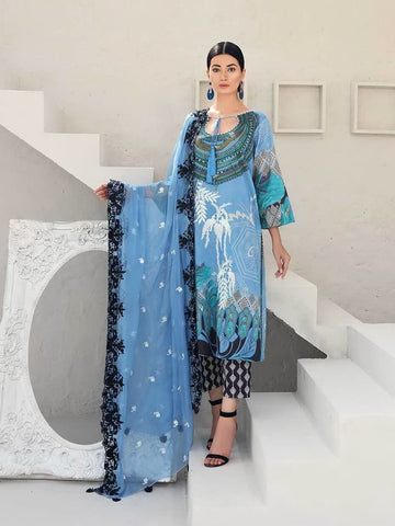 CHARIZMA Naranji Vol 2 2020 Embroidered Lawn 3pc Suit CN-52