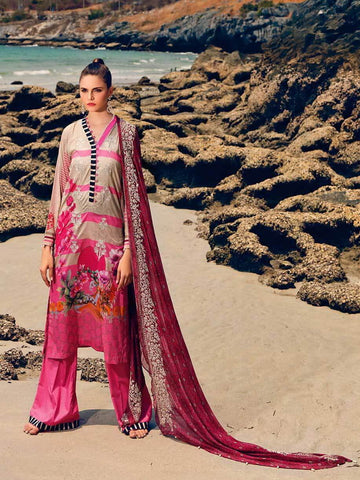 CHARIZMA Naranji Vol 2 2020 Embroidered Lawn 3pc Suit CN-51