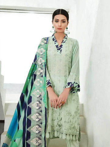 CHARIZMA Naranji Vol 2 2020 Embroidered Lawn 3pc Suit CN-50