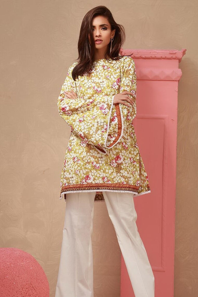 ORIENT Textile Festive Collection 2018 Printed Lawn Shirt OTL18-160-B