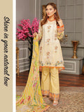 Panache Digital Embroidered Lawn Unstitched 3PC Suit PN-09 - FaisalFabrics.pk
