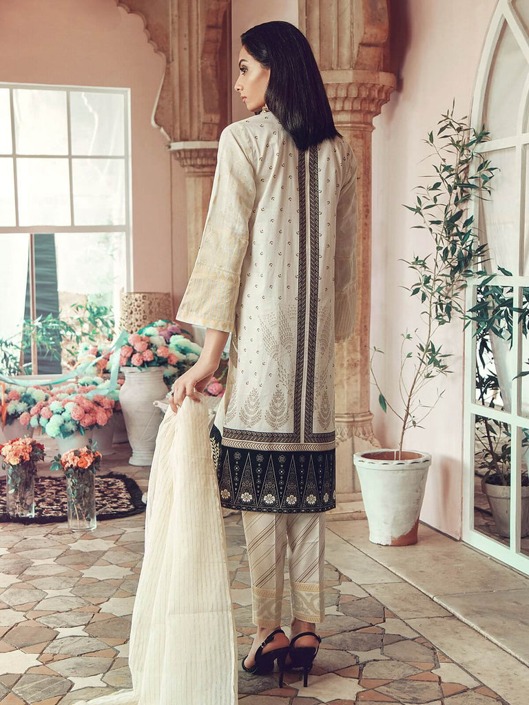 RajBari - RajBari Linen Vol-1 '19 11A Unstitched 3-Piece Embroidered Suit - faisalfabrics-pk