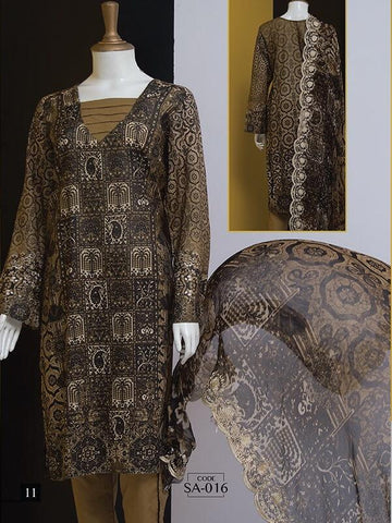 Abrasham Essential Digital Lawn Unstitched 3PC Suit SA 016