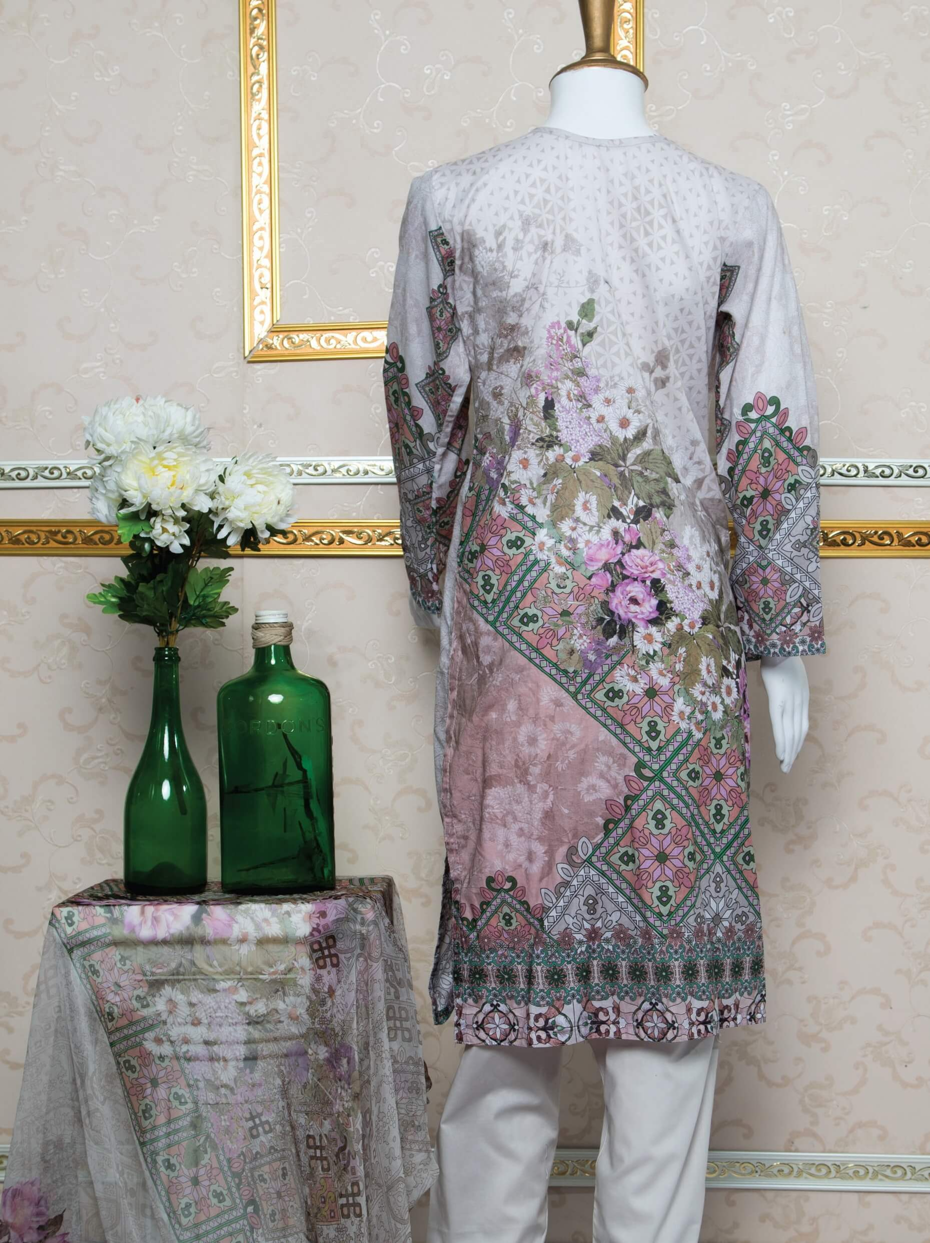 Abrasham Essential Embroidered Lawn Unstitched 3PC Suit SA 508 - FaisalFabrics.pk