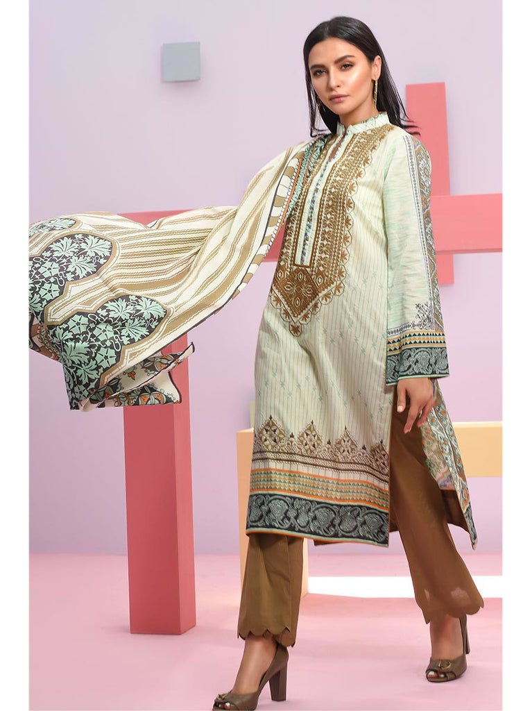 LSM Summer Breeze Embroidered Lawn Collection 2019  Sec 307A - faisalfabrics-pk