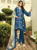 Shaista Luxury Linen 2019 Unstitched Embroidered 3 Piece Suit W-4