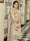 Shaista Luxury Linen 2019 Unstitched Embroidered 3 Piece Suit W-6