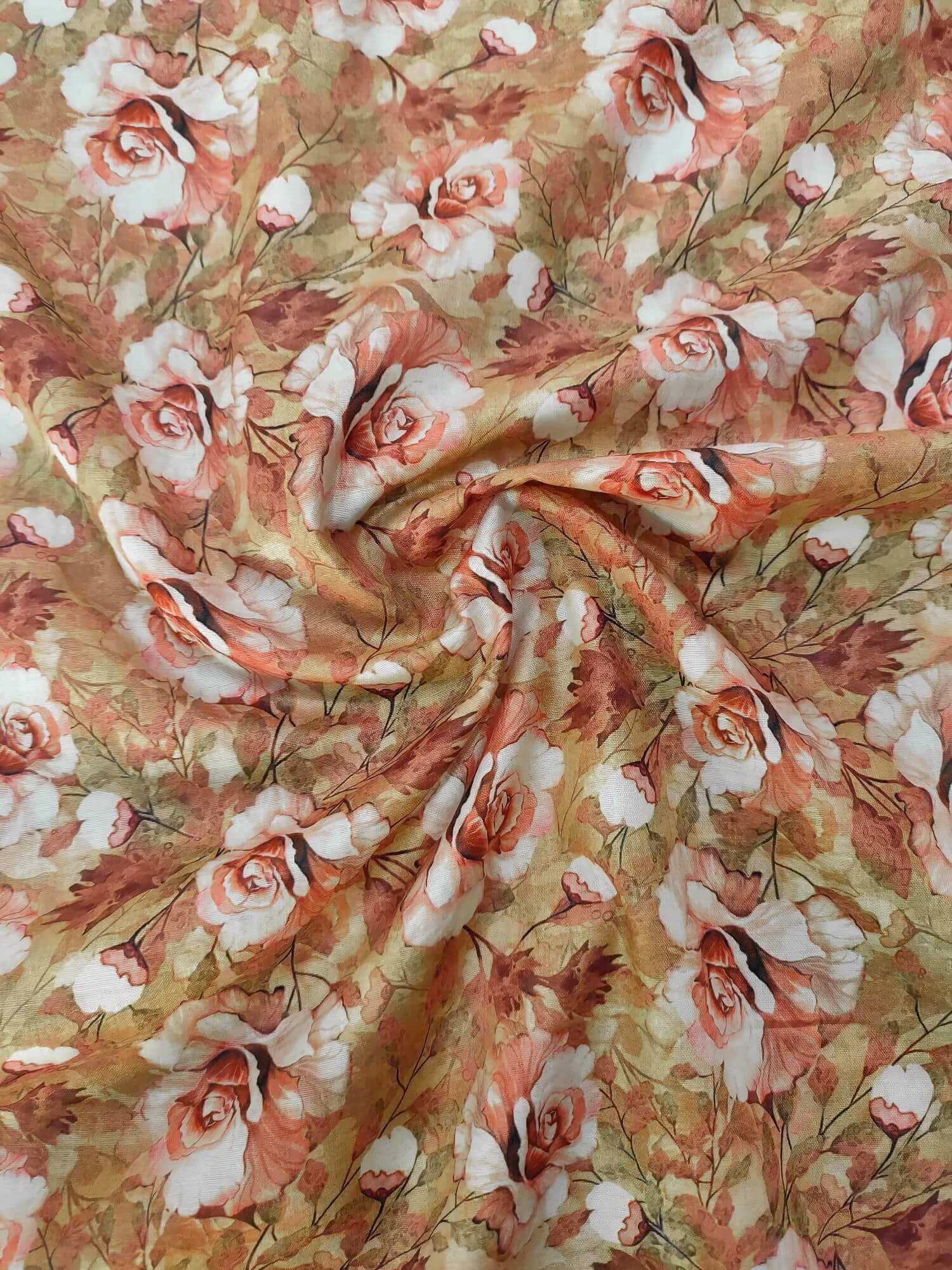 Single Lawn Printed Fabric for Summer unstitched SPL-20 - FaisalFabrics.pk