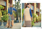 Smile Embroidered Viscose Linen Unstitched 3 Piece Suit HA-13A Winter Collection - FaisalFabrics.pk