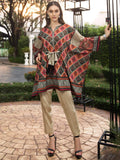 LimeLight Printed Eid Lawn Unstitched 2PC Suit Summer 2019 U0694 Brown