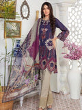 Zara Ali Lawn Collection 2020 Unstitched Embroidered Lawn Suit SA-09 - FaisalFabrics.pk