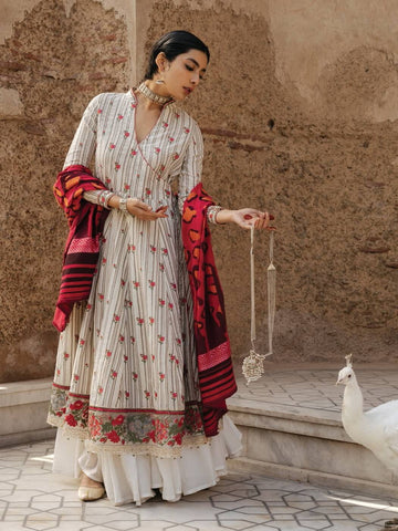 ZARA SHAHJAHAN Spring Summer Lawn 2020 3PC Suit ZR-01-B Zareen