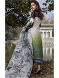 Asifa & Nabeel Luxury Lawn 2020 Embroidered 3Pc Suit 44-C A NEW LEAF - FaisalFabrics.pk