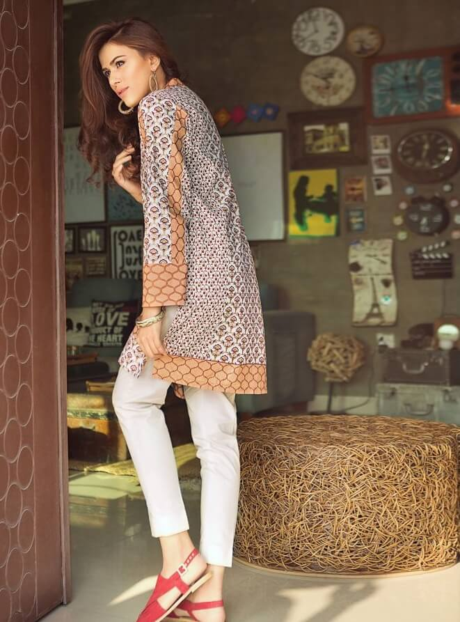 GulAhmed Festive Premium Printed Lawn Shirt Summer Collection SL 262A